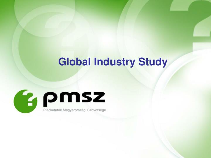 Global Industry Study