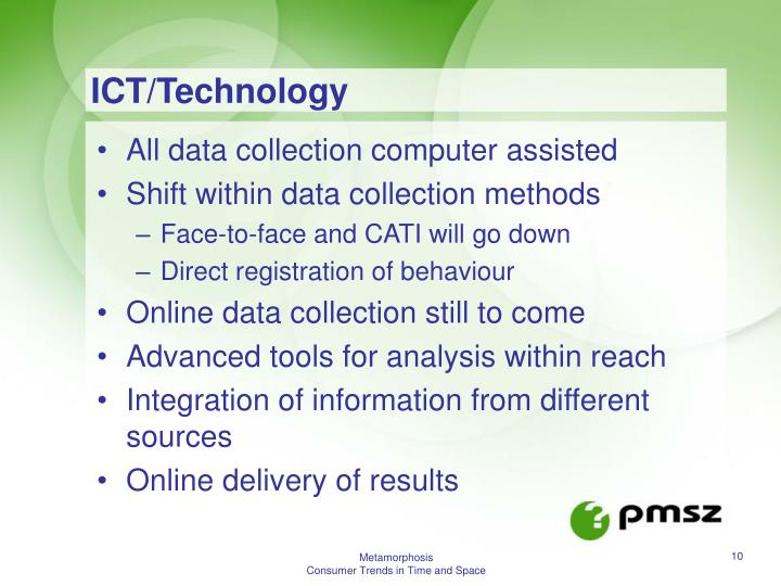 ICT/Technology