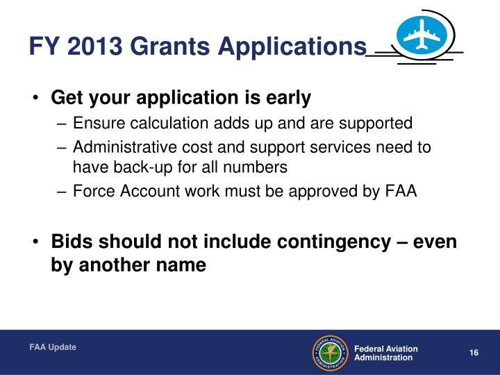 FY 2013 Grants Applications