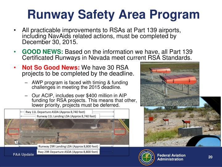 Runway Safety Area Program