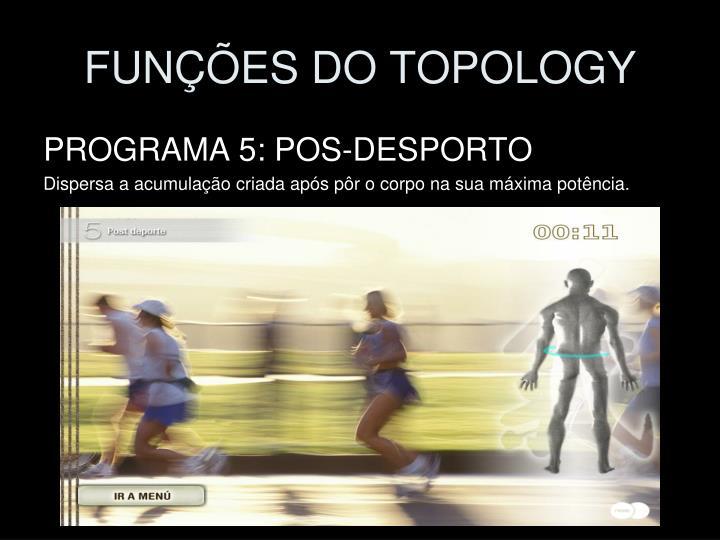 FUNÇÕES DO TOPOLOGY