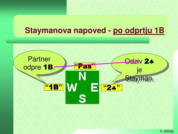 Staymanova napoved -