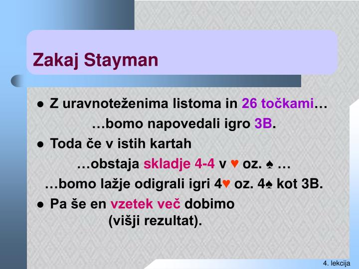 Zakaj Stayman
