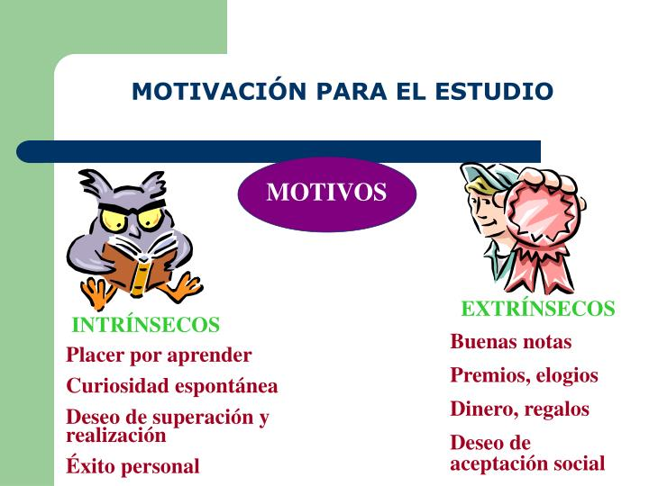 MOTIVACIÓN PARA EL ESTUDIO