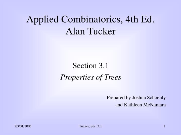 Applied Combinatorics, 4th Ed.