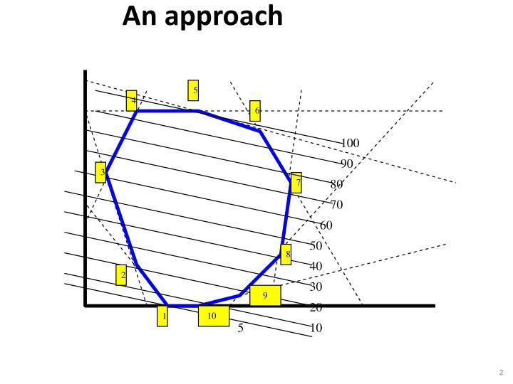 An approach