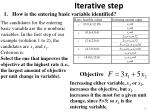 iterative step10