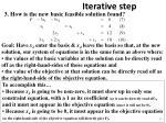 iterative step15