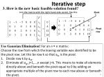 iterative step17