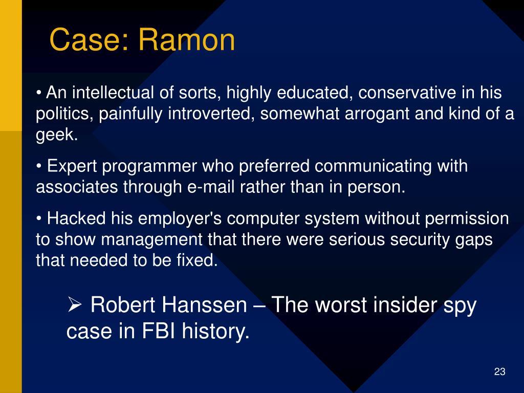 Case: Ramon