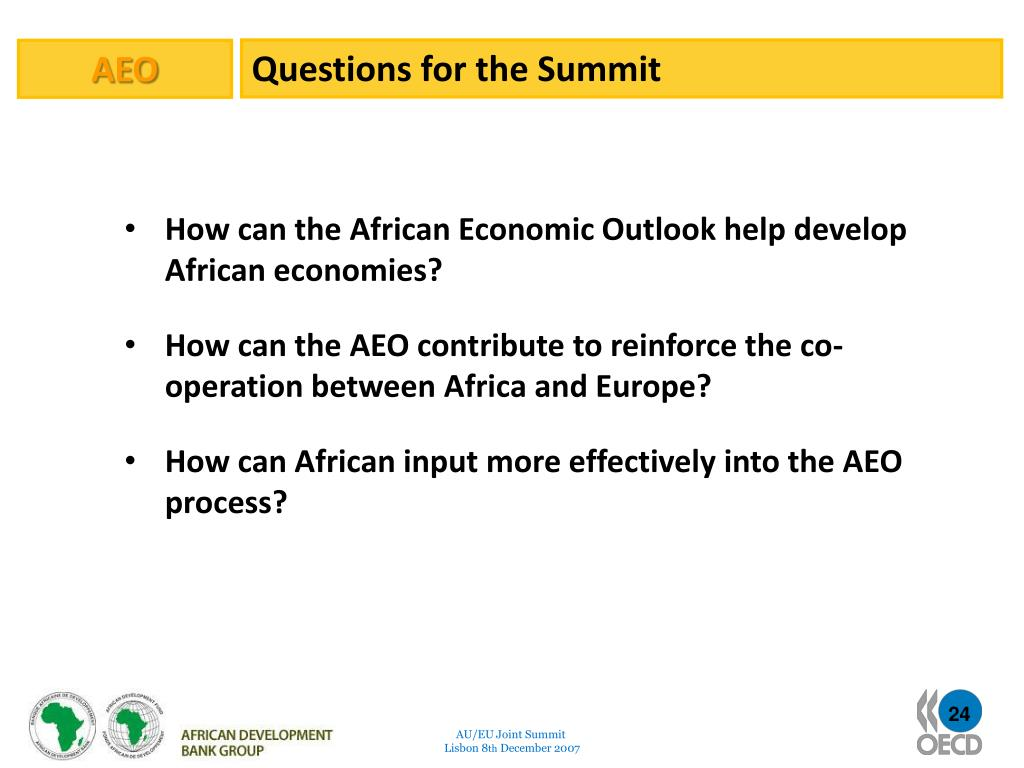 Questions for the Summit