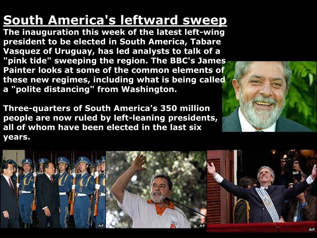 South America's leftward sweep