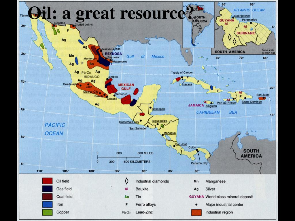 Oil: a great resource?