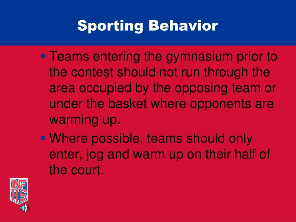 Sporting Behavior