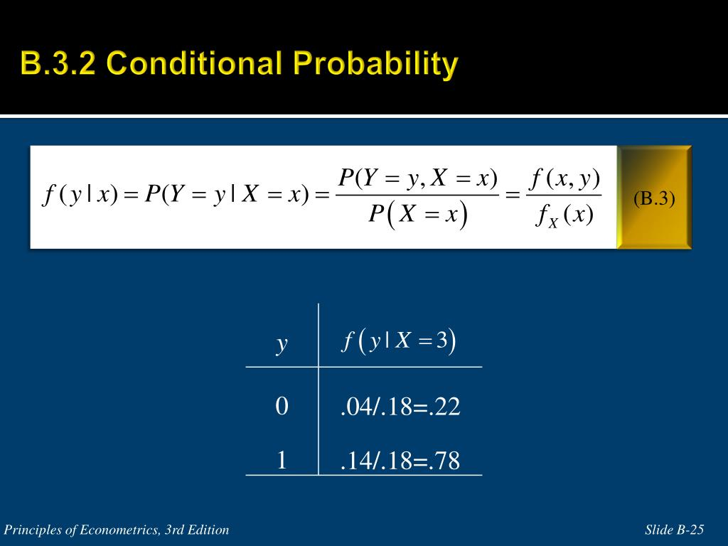 B.3.2 Conditional Probability