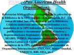paho pan american health organization