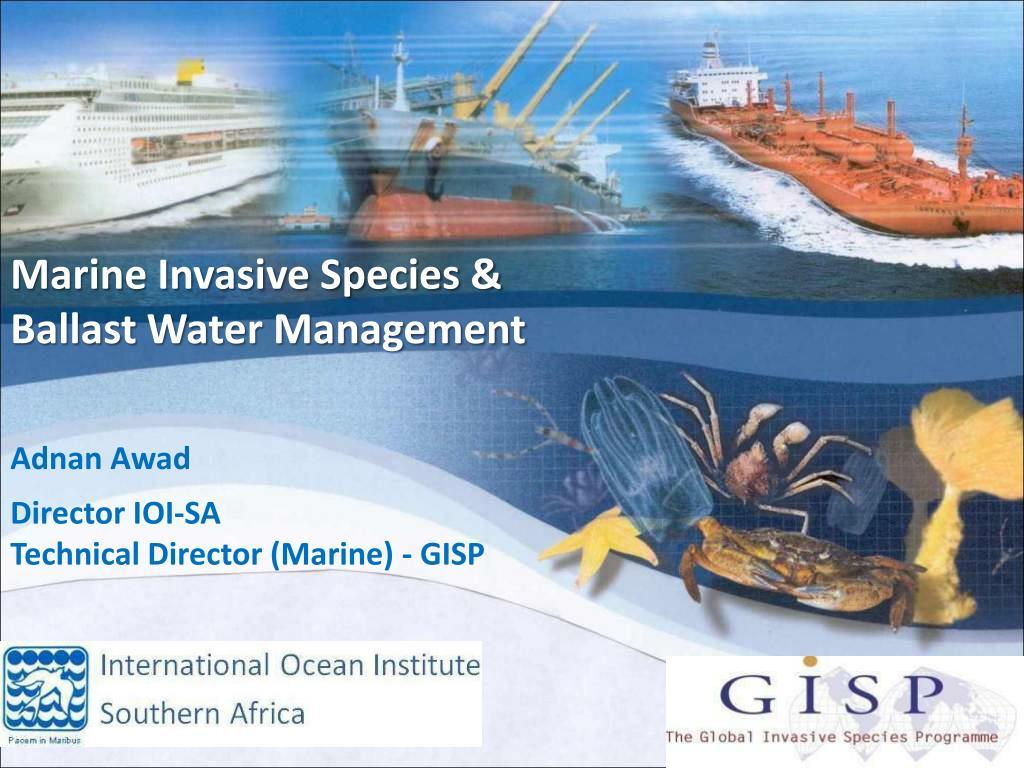 Marine Invasive Species &