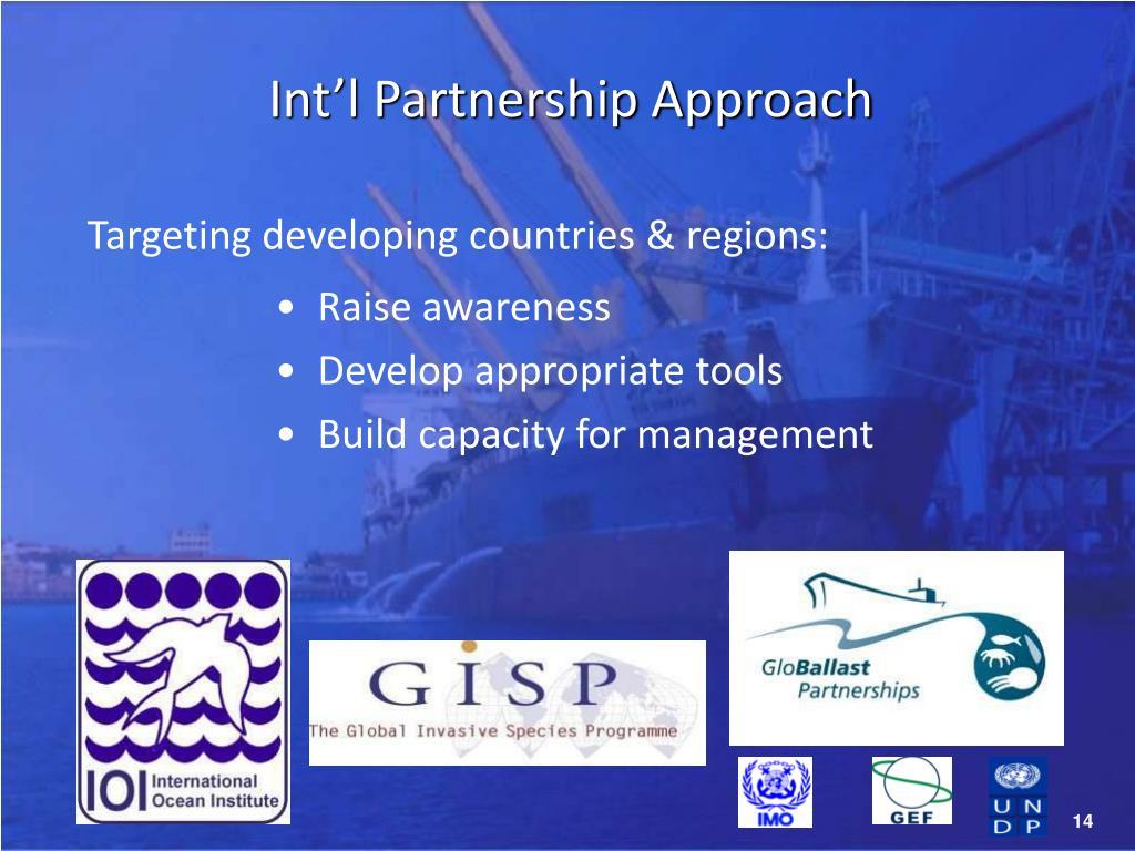 Int'l Partnership Approach