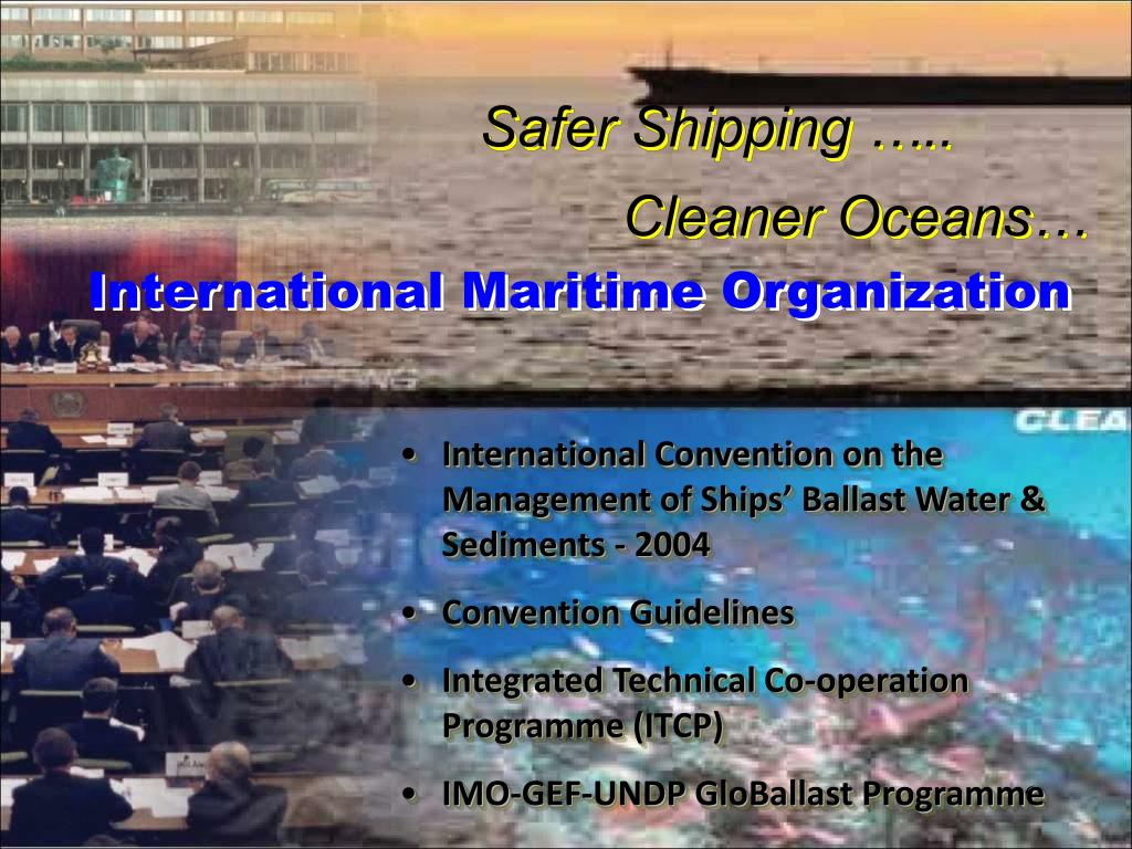Safer Shipping …..