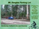 mt douglas parking lot