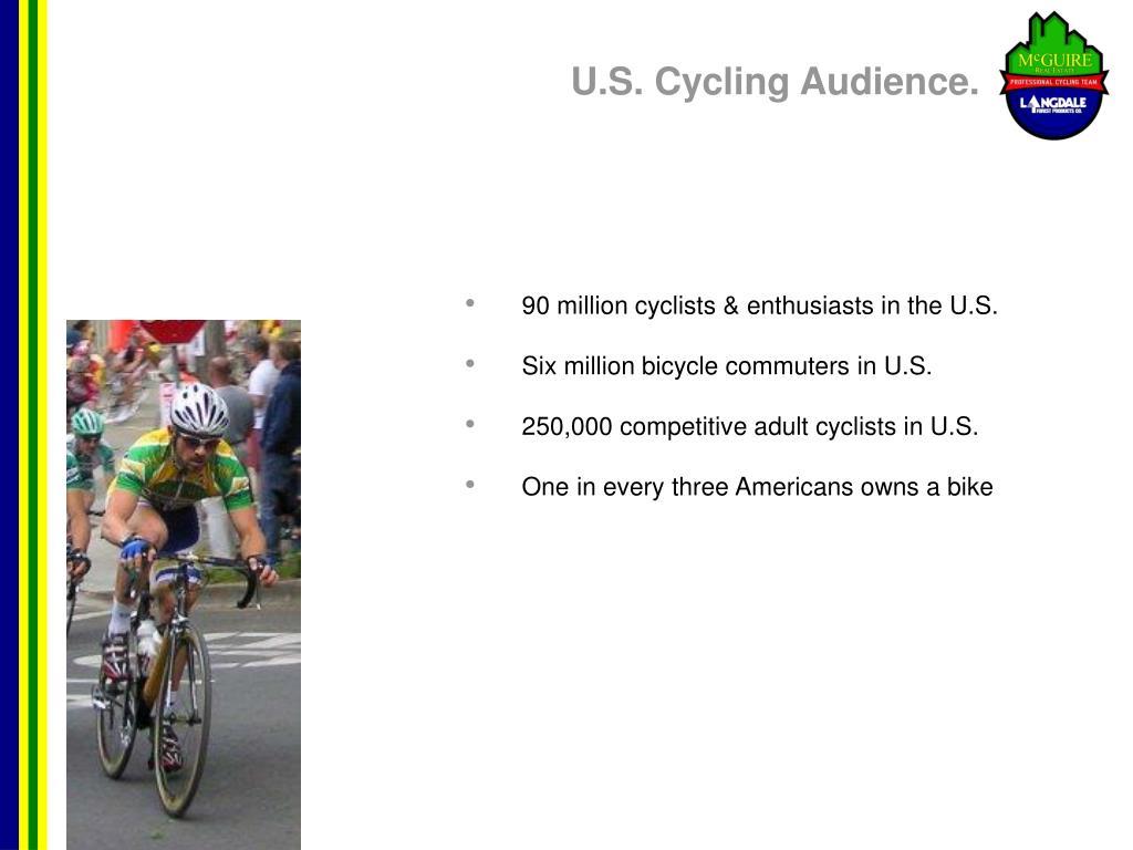 U.S. Cycling Audience.