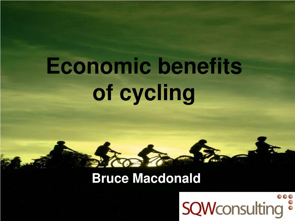 Economic benefits of cycling