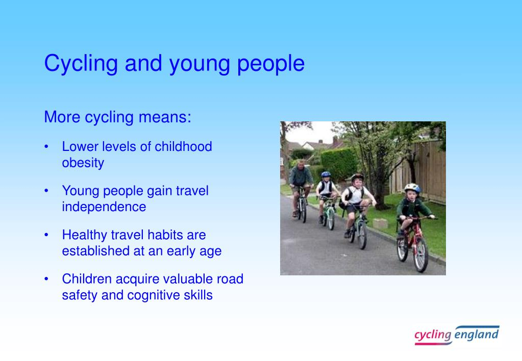 Cycling and young people