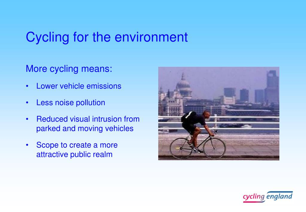 Cycling for the environment