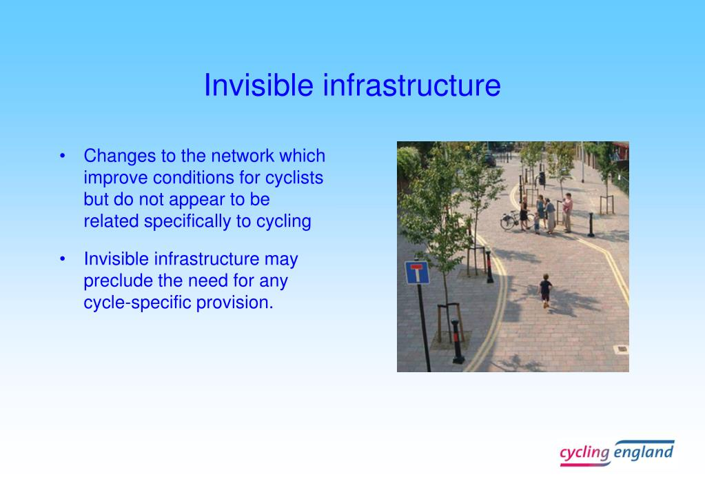 Invisible infrastructure