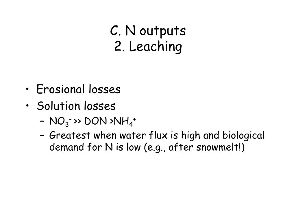 C. N outputs