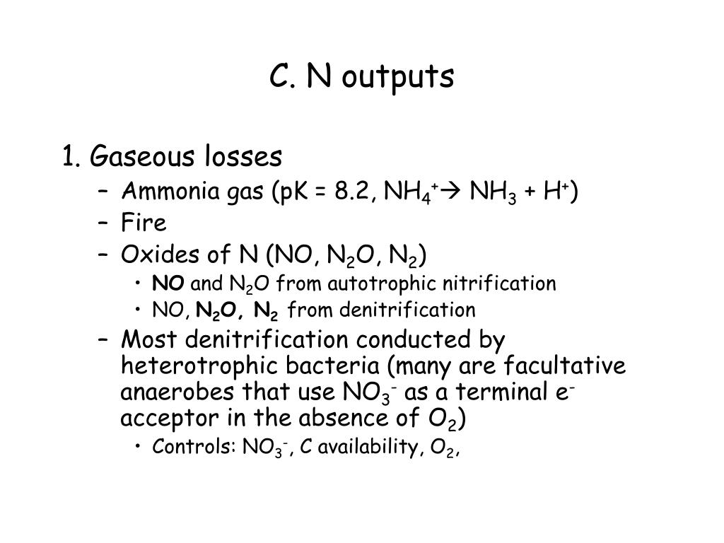 C. N outputs