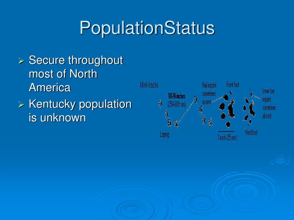 PopulationStatus