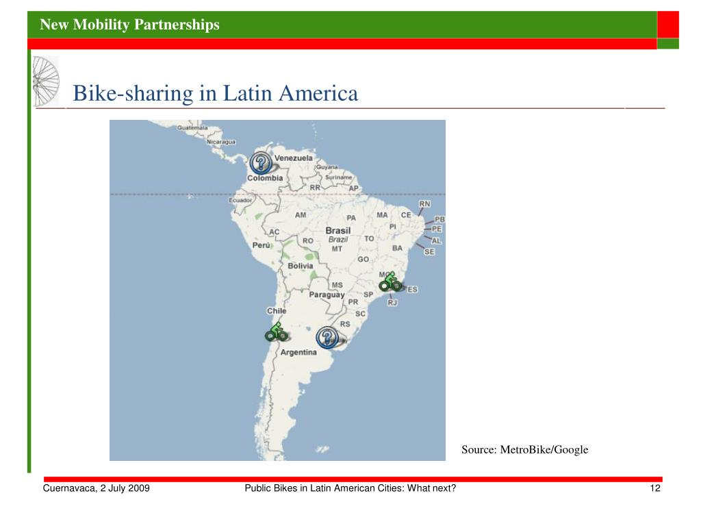 Bike-sharing in Latin America