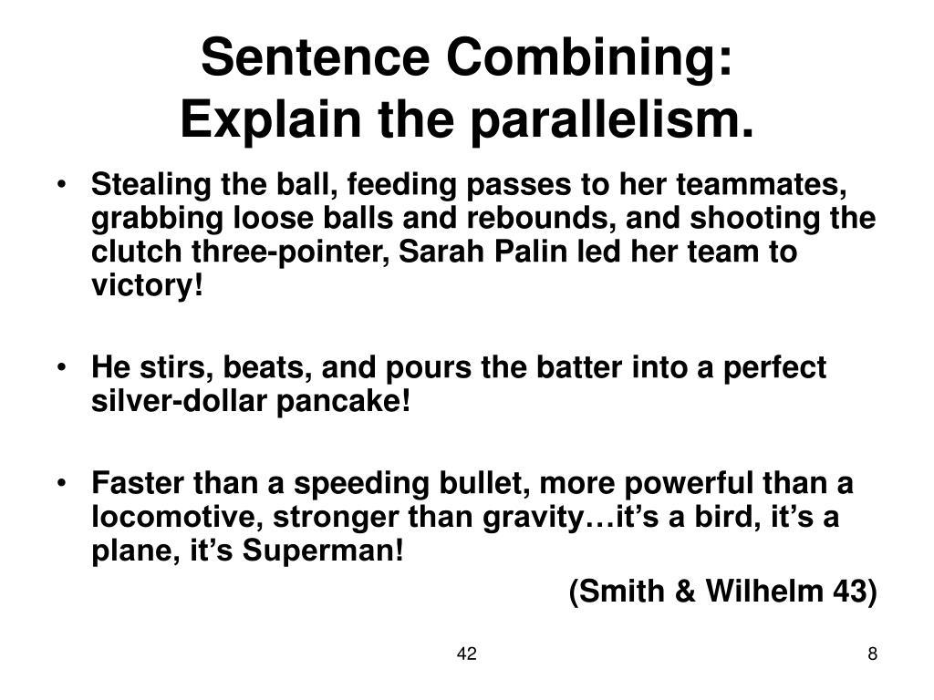 Sentence Combining: