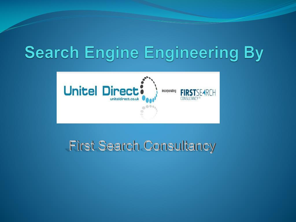 Search Engine Engineering By