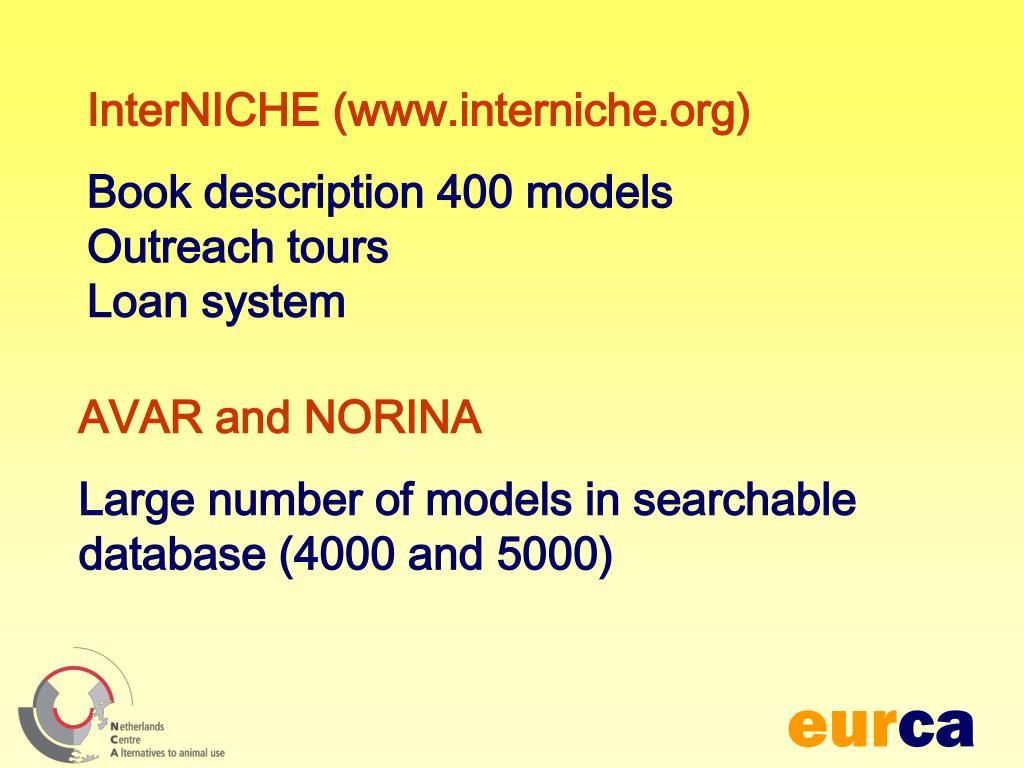 InterNICHE (www.interniche.org)