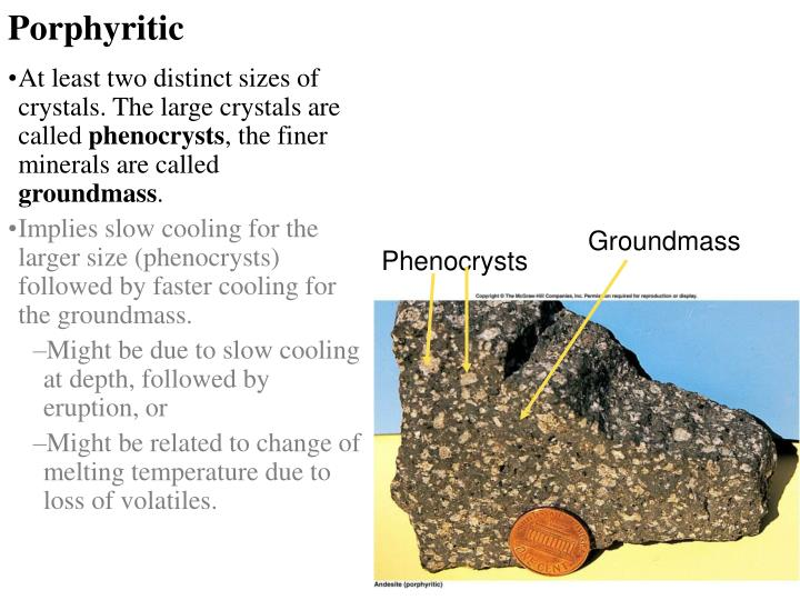 Porphyritic