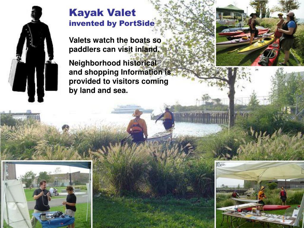 Kayak Valet