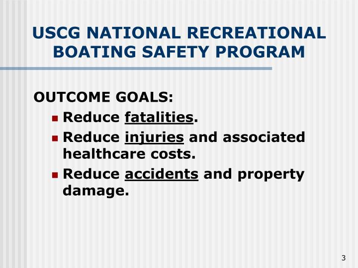 Uscg national recreational boating safety program3