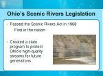 ohio s scenic rivers legislation