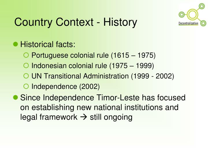 Country context history l.jpg