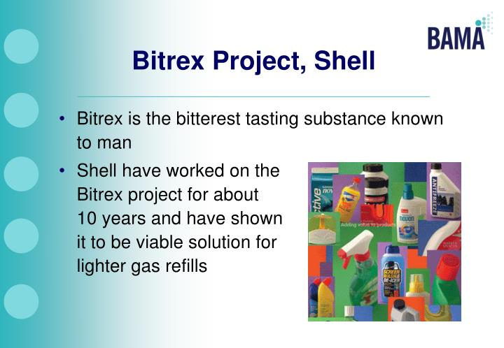 Bitrex Project, Shell