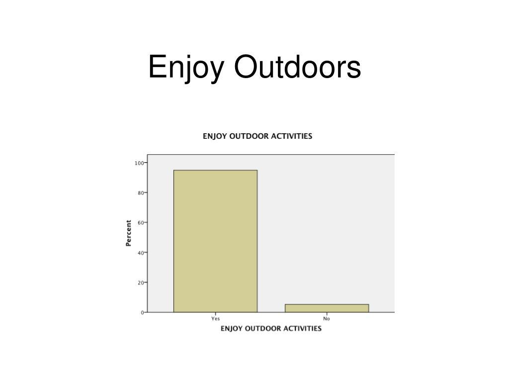 Enjoy Outdoors