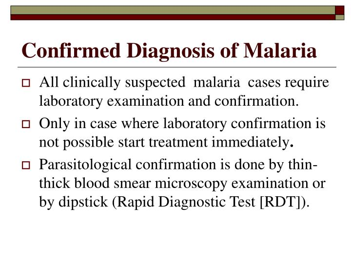 Confirmed diagnosis of malaria l.jpg