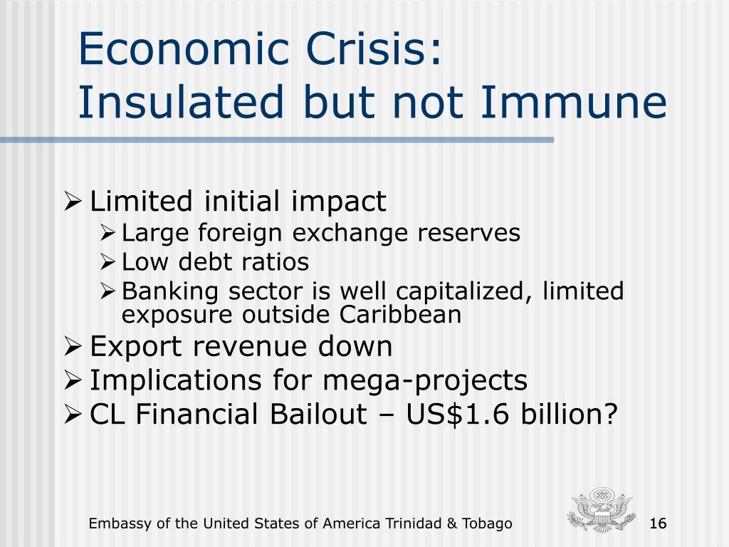 Economic Crisis: