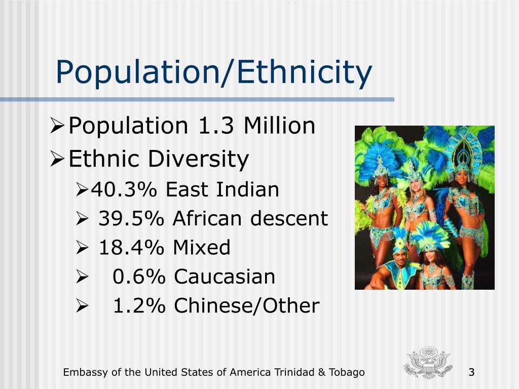 Population/Ethnicity