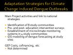 adaptation strategies for climate change induced dengue outbreaks7
