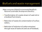 biofuels and waste management21