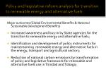policy and legislative reform analysis for transition to renewable energy and alternative fuels15