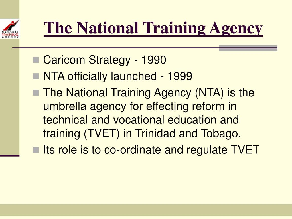 The National Training Agency